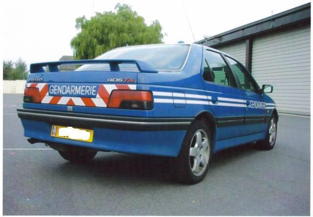 ar 405 T16 gendarmerie