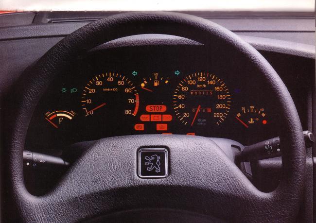 instrumentation de contrôle 405 II SRI